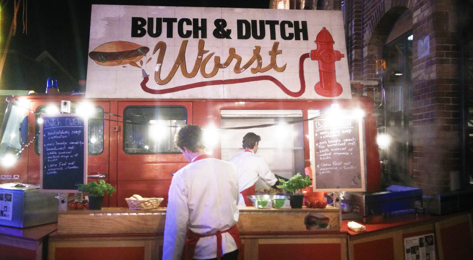 food stand Butch & Dutch Worst