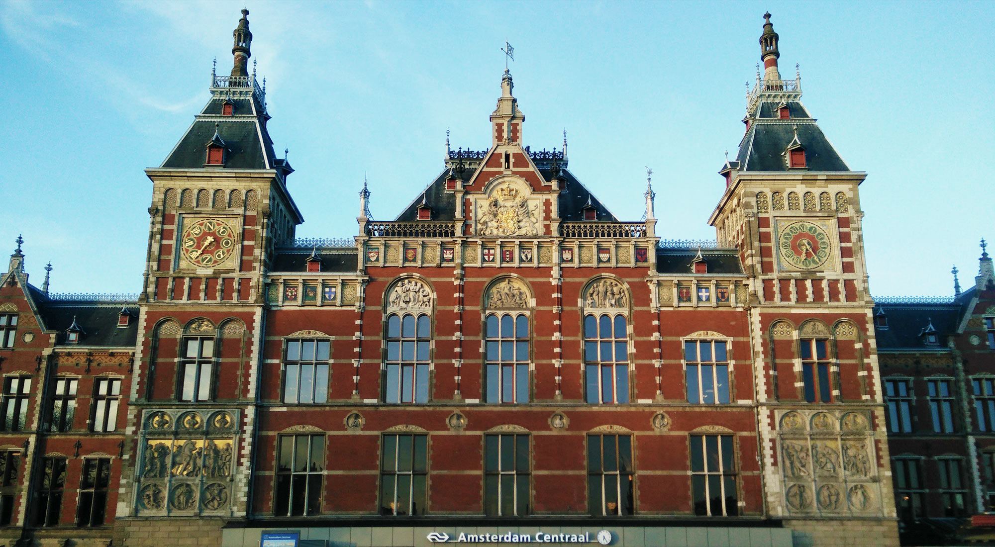 Amsterdam Centraal, Hauptbahnhof, central train station