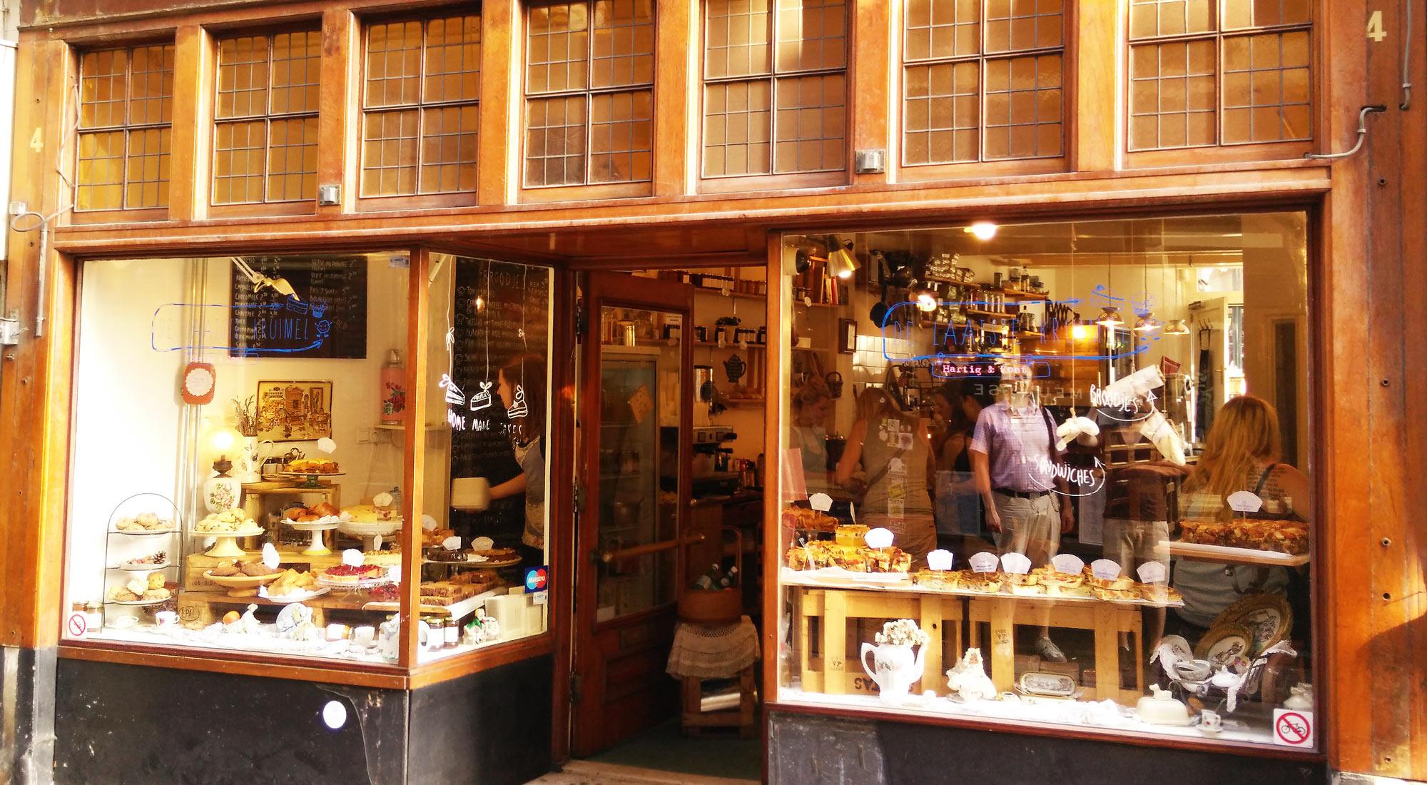 Bäckerei De Laatste Kruimel in Amsterdam