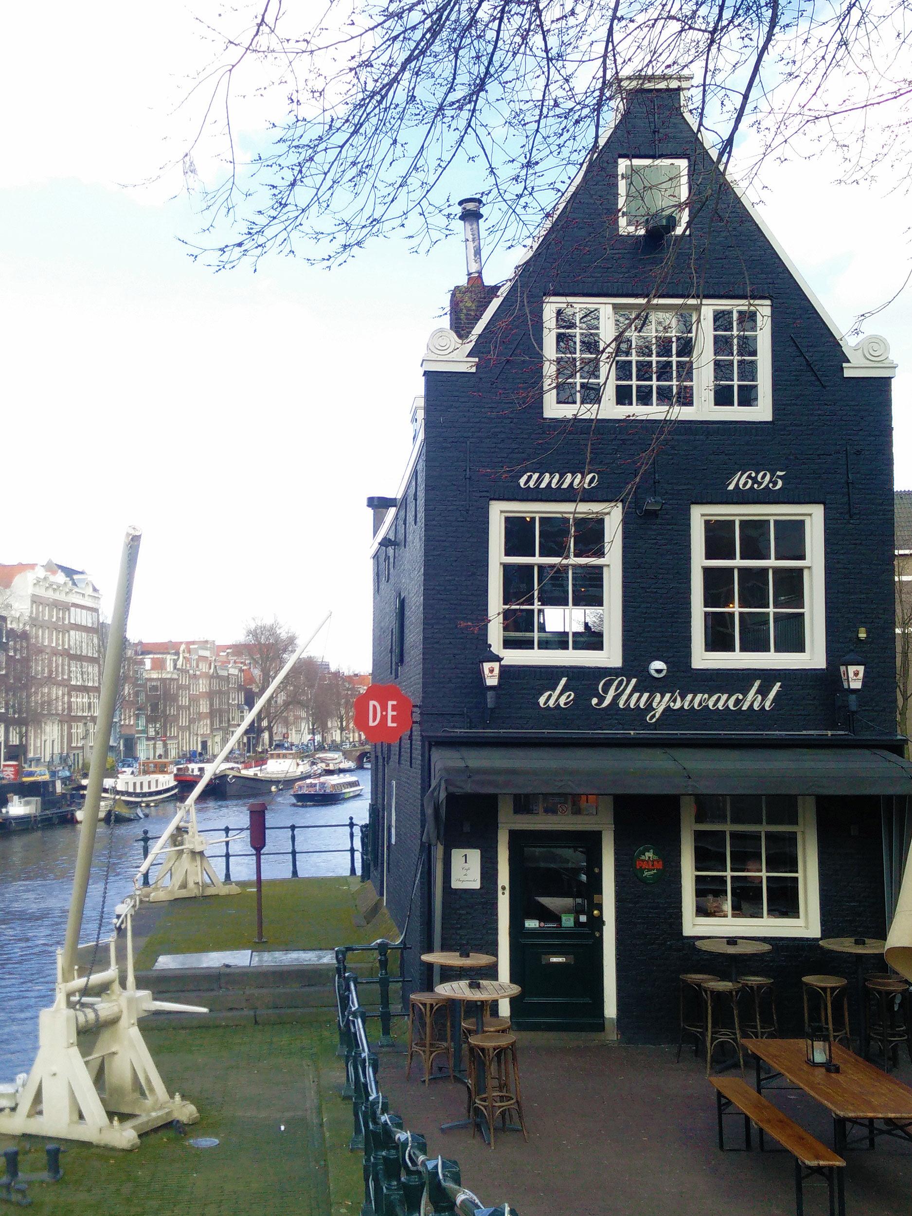Kneipe De Sluyswacht in Amsterdam