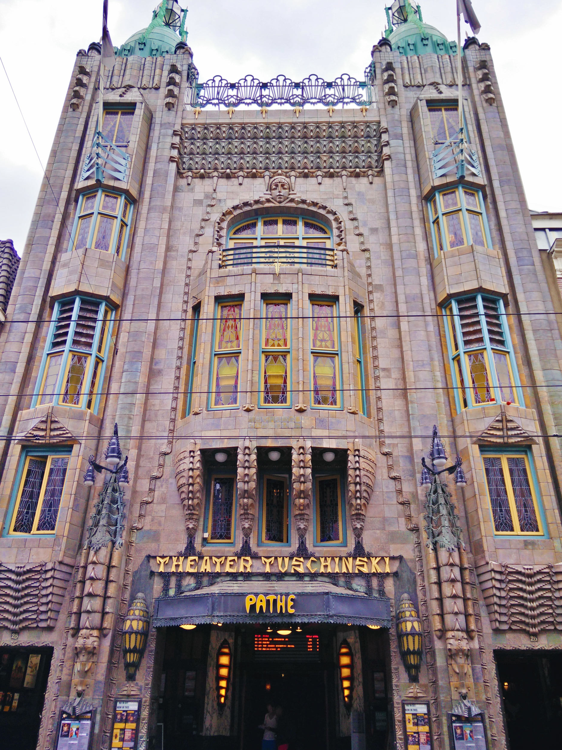 cinema Tuschinski in Amsterdam