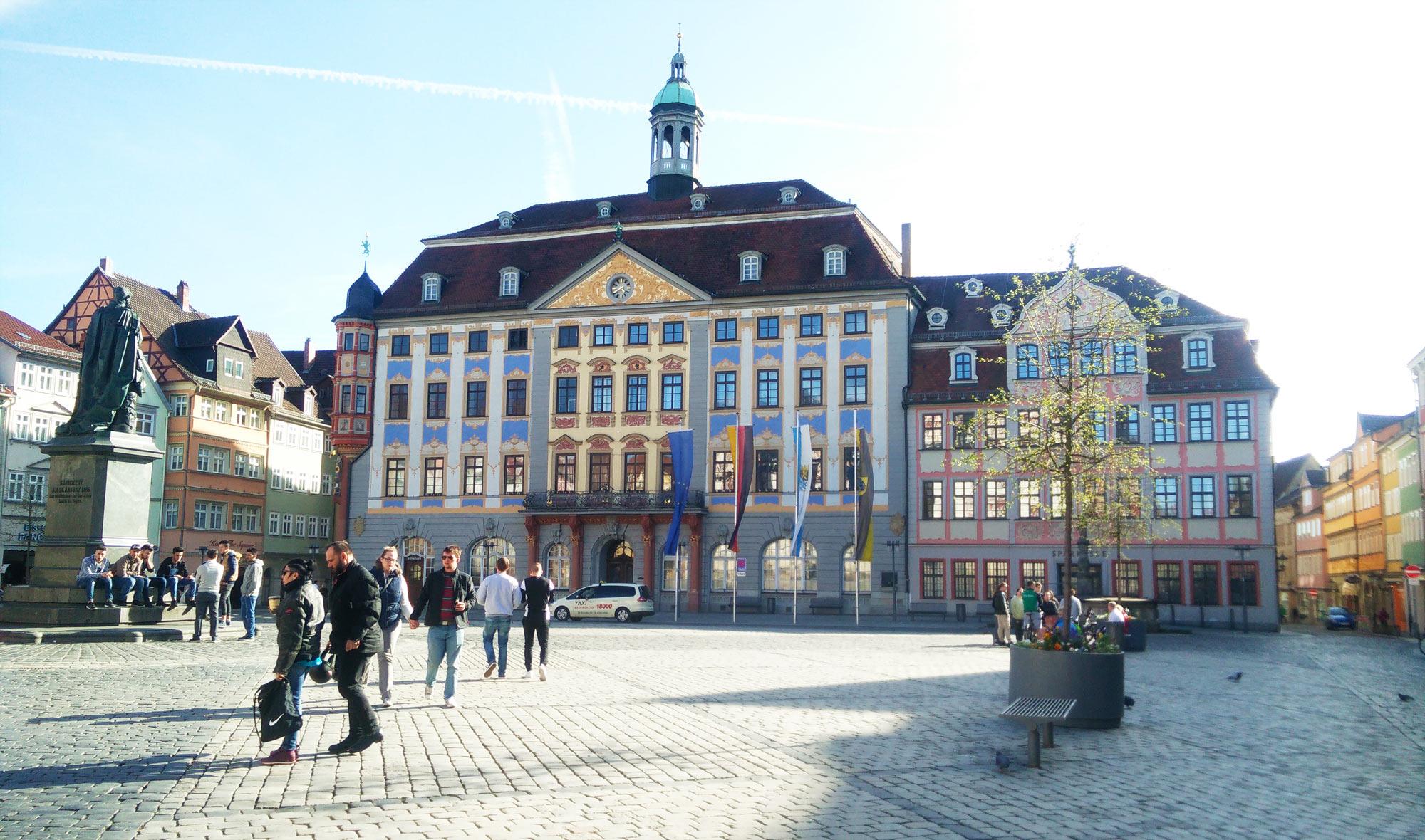 representive Renaissance town hall in Coburg